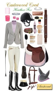 """Canterwood Crest: Heather Fox"" by equine-couture ❤ liked on Polyvore"