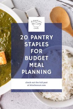 What are the 20 pantry staples that are ESSENTIAL in your kitchen? Here are mine! Easy Appetizer Recipes, Healthy Dessert Recipes, Fruit Recipes, Real Food Recipes, Breakfast Recipes, Budget Meal Planning, Budget Meals, Easy Chicken Parmesan, Make Ahead Lunches