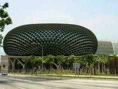 The Esplanade - Theatres on the Bay, Singapore #singapore #esplanade #facilities #engineering #tyli #aec