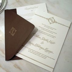Upscale Wedding Invitations | New York Wedding Blog | NYC Wedding Inspiration | Luxury Invitations ...