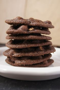 Double Chocolate Peanut Butter Cookies {via cameraLinz} 3