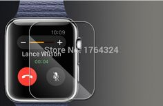 Find More Screen Protectors Information about 500pcs  Import HD scratch resistant  high clear  Screen Guard  Protector film For Apple Watch 42MM,High Quality Screen Protectors from WTC on Aliexpress.com