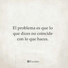 Ese es el problema*