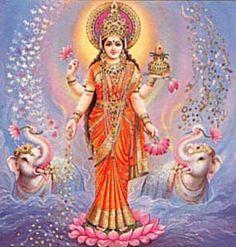 Lakshmi: Goddess of Abundance -   Ancient Sanskrit Chant of Abundance - Om Gum Shrim Maha Lakshmi Yei Swaha