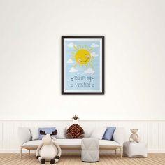 You Are My Sunshine Print, Nursery Art, Instant Download Printable Nursery Art, Baby Decor, Nursery Wall Art, Room Art, Baby Print Sunshine Printable, You Are My Sunshine, Room Art, Baby Prints, Baby Decor, Nursery Wall Art, Poster Prints, Artwork, Etsy