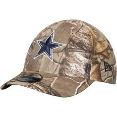 5b8888605 Toddler Dallas Cowboys New Era Realtree Camo 9TWENTY Adjustable Hat