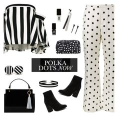 """""""Polka Dots Now"""" by majezy ❤ liked on Polyvore featuring Witchery, Milly, Maryam Nassir Zadeh, Miss Selfridge, Olsen, Dolce&Gabbana, JINsoon and Royale"""