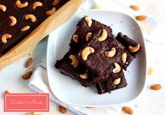 Céklás brownie, kesudióval - MINDENMENTES