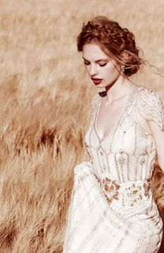outdoor, field, accessories, beauty, dress, setting, sheath, vintage, short, v-neck, long, updo, retro, bride, dresses, hair, hairstyles, her, makeup, photo, wedding, hairs, brides, red