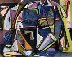 Zonder Titel, Parijs-Montrouge, 1951, olieverf op doek, 130.5 x 162 cm Bram Van Velde, Tachisme, Composition Design, Principles Of Design, Dutch Painters, Creative Advertising, Life Drawing, Photo Art, Contemporary Art