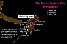The Northern and Northeastern Mountains | Part 2 – Civilsdaily
