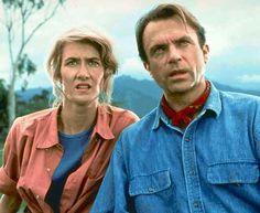 Jurassic World 3 has reeled in three of the original Jurassic Park cast - Sam Neill, Jeff Goldblum and Laura Dern. Jurassic Park Film, Jurassic Park Characters, Jurassic Park Costume, Jurassic World 3, Jurassic Movies, Chris Pratt, Michael Crichton, Bryce Dallas Howard, Laura Dern