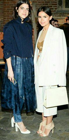 Leandra and Miroslava Duma