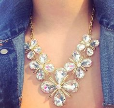 Costume necklaces & Fashion necklaces, Stylish eye catching statement necklaces http://www.justtrendygirls.com/stylish-eye-catching-statement-necklaces/