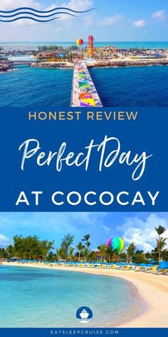 Find out what Royal Caribbean's newly update island in the Bahamas is really like with our honest Perfect Day at CocoCay Review. Packing List For Cruise, Cruise Travel, Cruise Vacation, Cruise Tips, Bahamas Vacation, Bahamas Cruise, Cruise Excursions, Cruise Destinations, Southern Caribbean