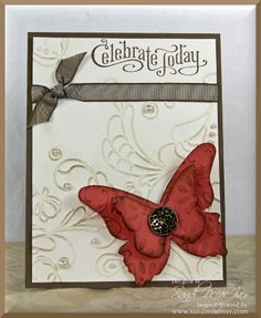 Die Cutting 101 - Project #1 - Stampin Up Demonstrator, Sandi MacIver, Stamping With Sandi - Portland, Oregon