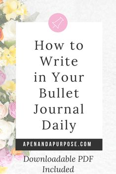 Want to keep up with bullet journaling and journaling? These thirteen tips on how to keep a journal on a consistent basis will help you to finally take the steps to have a solid journal practice. If you've wondered how to write a journal entry (nearly) every day and fill your notebooks, this article is for you. Downloadable PDF with all 13 tips included #journaling #journal #selfimprovement #bulletjournal Bullet Journal How To Start A, Keeping A Journal, Bullet Journal Spread, Bullet Journal Layout, Bullet Journal Inspiration, Bullet Journals, Journal Entries, Journal Prompts, Journal Pages