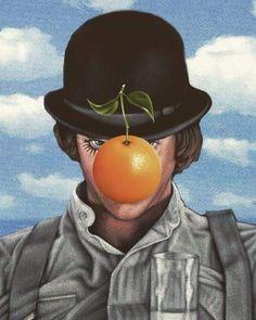 Orange Things a clockwork orange Dark Drawings, Orange Art, Orange Aesthetic, Movie Poster Art, Arte Pop, Stanley Kubrick, Slayer Anime, Cultura Pop, Cool Posters