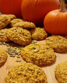 Galettes à la citrouille Cookie Desserts, Cookie Recipes, Dessert Recipes, Biscuits, Raisin Cookies, Cut Out Cookies, Biscuit Recipe, Pumpkin Recipes, Vegetable Recipes