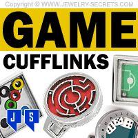 ►► COOL FUN PUZZLE GAME CUFFLINKS! ►► Jewelry Secrets