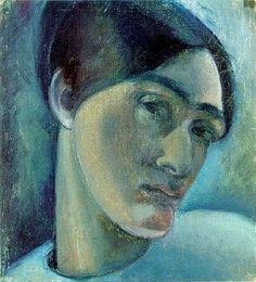 Anita Ree, self-portrait
