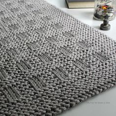 Westport Blanket knitting pattern by Fifty Four Ten Studio. Quick and easy knitting pattern. Instructions for five sizes: XL blanket, large blanket, medium throw, small crib / lap blanket, baby blanket. Knit with super bulky yarn.