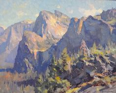 "Yosemite by Kevin Macpherson Oil ~ 16"" x 20"""