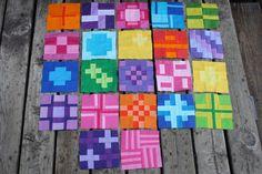 City Sampler Sew Along: Blocks 22, 23, and 24