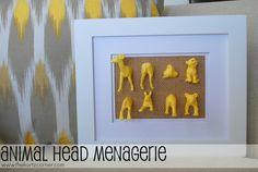 The Kurtz Corner: Animal Head Menagerie + Win A $250 Home Depot Gift Card!