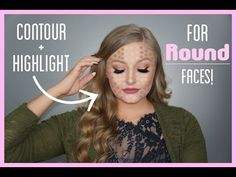 Makeup Contouring And Highlighting: What You Need To Know Light Contouring, Face Contouring, Contour Makeup, Contouring And Highlighting, Kiss Makeup, Hair Makeup, Contour For Round Face, Round Face Makeup, Circuit