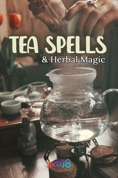 Magickal Herbal Tea Recipes Magische Kräutertee-Rezepte Image by Rosa Floyd The creamy sesame seed paste isn't just for hummus: It's. Spelt Recipes, Tea Recipes, Magick Spells, Witchcraft, Herbal Magic, Herbal Witch, Magic Herbs, Kitchen Witchery, Tea Benefits