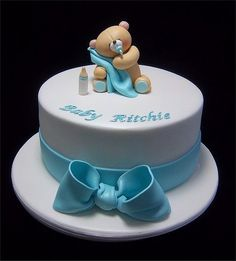 baby shower boy cake ideas - Google Search