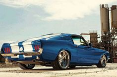 Classic muscle car.... Needs clasdic wheels for my taste