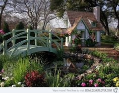 15 Whimsical Wooden Garden Bridges