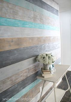 chalk painted paneling - Google Search