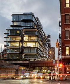 zaha hadid architects completes 520 west 28th, its first project in new york city