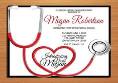 Free Printable Nursing Invitations Nurse Cap Card Details