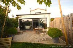 Bordeaux : Maison loft avec terrasse dans ancien atelier