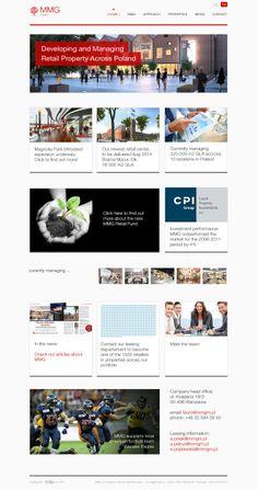 Responsive Web Design for MMG