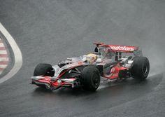 2008 Interlagos Vodafone Mclaren Mercedes MP4-23 Lewis Hamilton