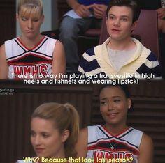 Kurt and Santana