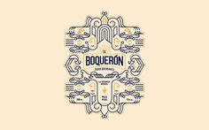 El Boqueron Pisco Quebranta Peruvian Brandy — The Dieline - Branding & Packaging Design