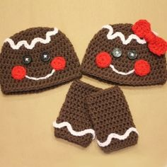 Gingerbread hats !