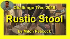 Rustic Stool for Challenge Tree 2016 Rustic Stools, Peacock, Company Logo, Challenges, Decor, Decoration, Rustic Counter Stools, Peacocks, Decorating