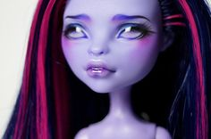 Monster High OOAK Jane Boolittle Faceup by Beautidolls on Etsy