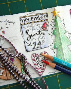 elvie studio Journaling for Christmas @Pamela Caviness