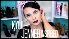 Kylie Jenner Inspired Makeup - Chocolate Lipstick! | Mariah McLean