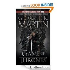 A Game of Thrones: A Song of Ice and Fire: Book One by George R.R. Martin.  Read May 2012.