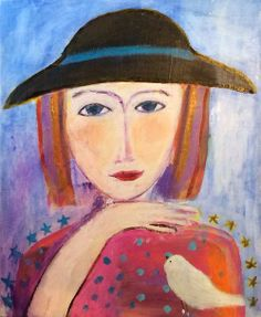 Hickory Ridge Art Hitch Your Wagon To A Star Ruth Arenz 2014