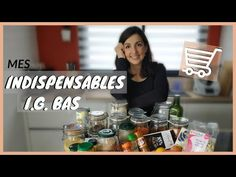 🛒ALIMENTS INDISPENSABLES POUR CUISINER IG BAS + liste de courses et menus à imprimer gratuitement - YouTube Menu Ig Bas, Courses, Planning, Healthy Food, Cooking Food